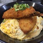 クークー - 白身魚フライ丼 450円