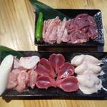 王どりー - 鶏焼き5品盛り合わせ