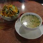 67719199 - スープ、サラダ