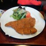 6772696 - 110212大阪 ゆめの庵 若鶏(国産)和風チキンカツランチ800円