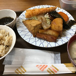 花笠食堂 - 煮付け定食   ¥850