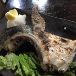 魚や  - 鰤かま塩焼き