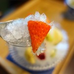 カフェ イロハ - かき氷アップ②