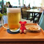 カフェ イロハ - 生ビール ¥594