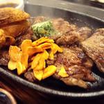 けむり屋 牛力 - ハラミステーキセット