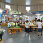 道の駅 七城メロンドーム アイスコーナー - 店内の様子
