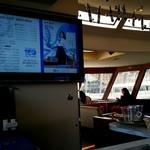 ファンタジー号 喫茶コーナー - 船内の2F中央が喫茶コーナー