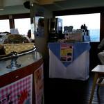 ファンタジー号 喫茶コーナー - 両サイドにあるんですね