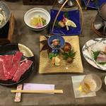 つばきの旅館 - 料理写真:夜