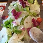 海鮮うまいもんや とと丸水産 - 大根サラダ