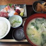 まるさん松本 - 本日のお造り定食