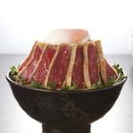 牛カツのタケル - 特盛牛カツ丼