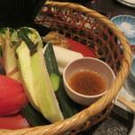 接方来 - 季節の篭盛りサラダ