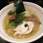 Menyayoshi - 梅塩ラーメン(880円)