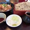 手打ちそば 青々庵 - 料理写真:豚丼 もりセット 950円