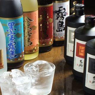 厳選した日本酒16種類以上!ウマい地酒がここに!梅酒は全5種