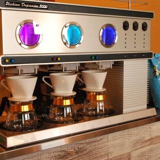 和歌山初のコーヒーマシン「ドリップマスター」で極上の一杯を!