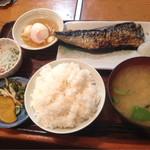 みのや - 焼魚定食(さば)