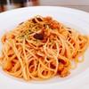 ミルポワ - 料理写真:本日のパスタひよこ豆とトマトソース
