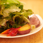 レブスケ - ランチの前菜サラダ盛合せ