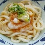丸亀製麺 - おろし醤油 350円