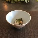 アリタポーセリンラボ - 本日の小鉢(茄子のおひたし)