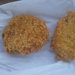 肉のコバ - メンチカツとコロッケの揚げたて