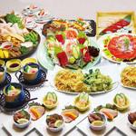 晤寶 - 料理写真:宴会コース 3,000円〜