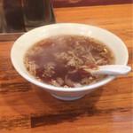 67740980 - 大きめなスープ。