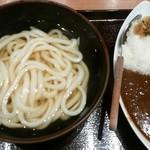 四國 - かけうどん(温)+ミニカレーセット