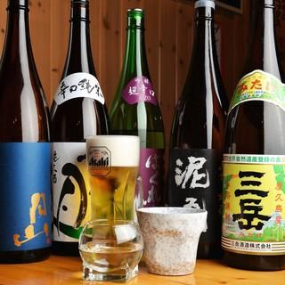 ★生ビール&日本酒&焼酎も全品298円