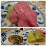 焼肉すどう - *お肉が柔らかくて甘いこと。サーロインですのにくどくない。 *焼きナスはお肉と共に頂くとサッパリしていいですね。