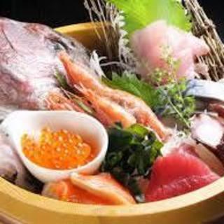 【鮮魚桶盛り】