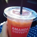 アマンダコーヒーズ - ブラッドオレンジジュース