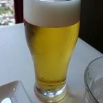 ブラッスリーオザミ - 生ビール。