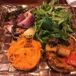 67746730 - 野菜サラダ盛合せ