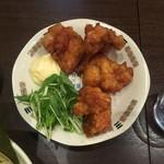 らー麺 鉄山靠 - 唐揚げ 500円
