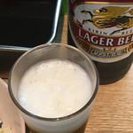 酒の奥田 - ビールはキリンラガービール