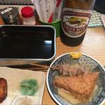 酒の奥田 - おでん☆★★☆ラガービール