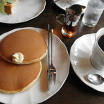 珈琲工房 - モーニングのホットケーキ