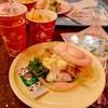 セバスチャンのカリプソキッチン - 料理写真:ピンクバンズサンド(ローストチキン、エッグ、BBQマヨネーズソース)、フライドポテト、ソフトドリンク @990円