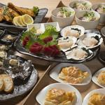 ケンケンビアファクトリー - 夏のビール「和食」コース