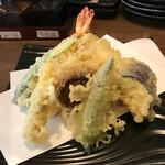 天ぷらと泡 ぱちぱち -