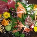 鮮魚個室居酒屋 利休 -