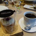 THE GARDEN ORIENTAL OSAKA - キャロットケーキとコーヒー