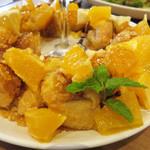 アイボリッシュ - 蜂蜜とからめたニューサマーオレンジと、レモンクリームが甘酸っぱいフレンチトースト。