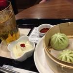 china cafe - 本格飲茶セット 790円