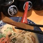 67755896 - 鶴亀堂のメンマはコリっと旨い