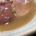 七福軒 - 鯛白湯スープ