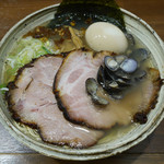 らーめん一郎 - 特製塩(しじみ)ラーメン